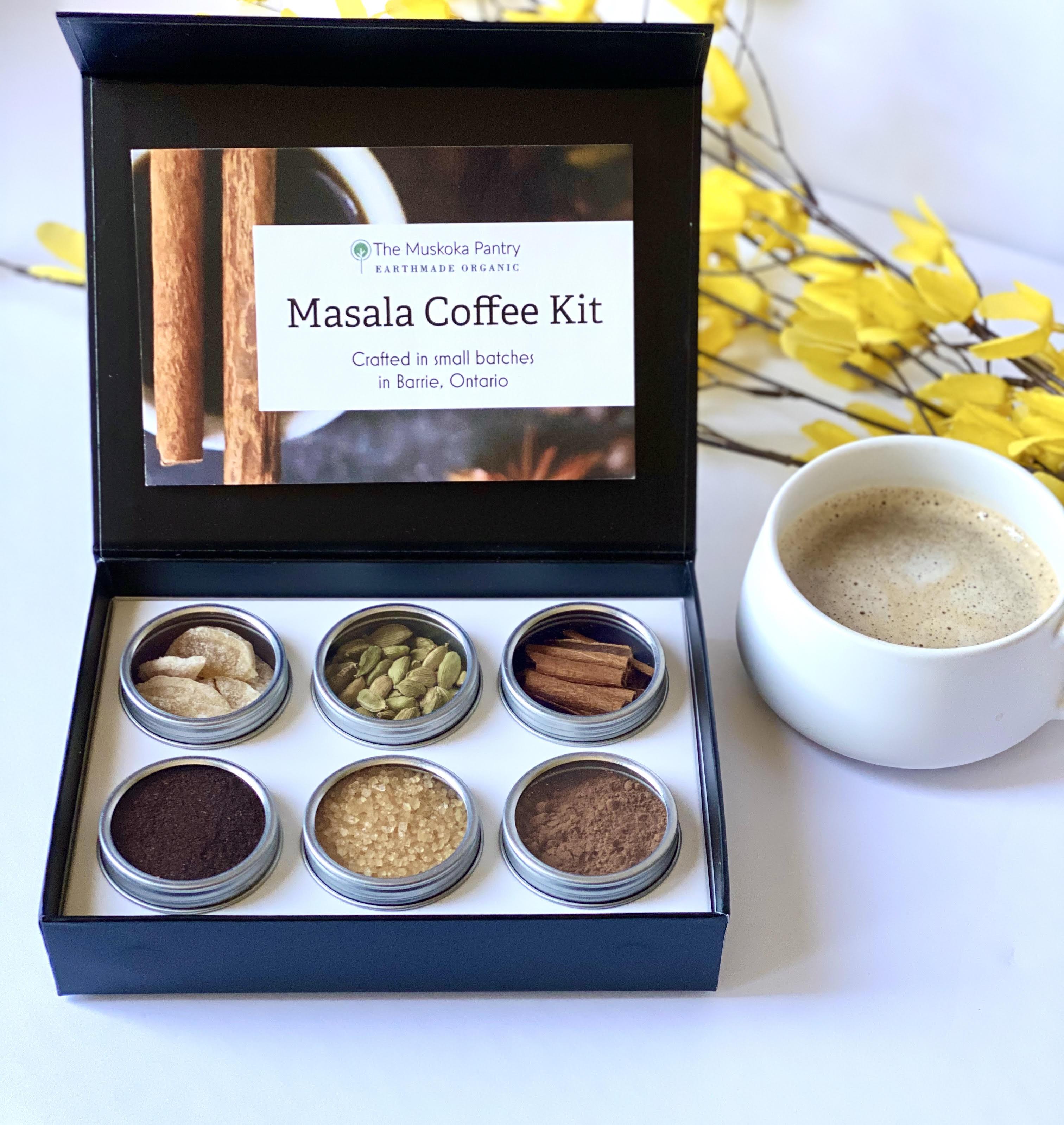 Masala coffee kit