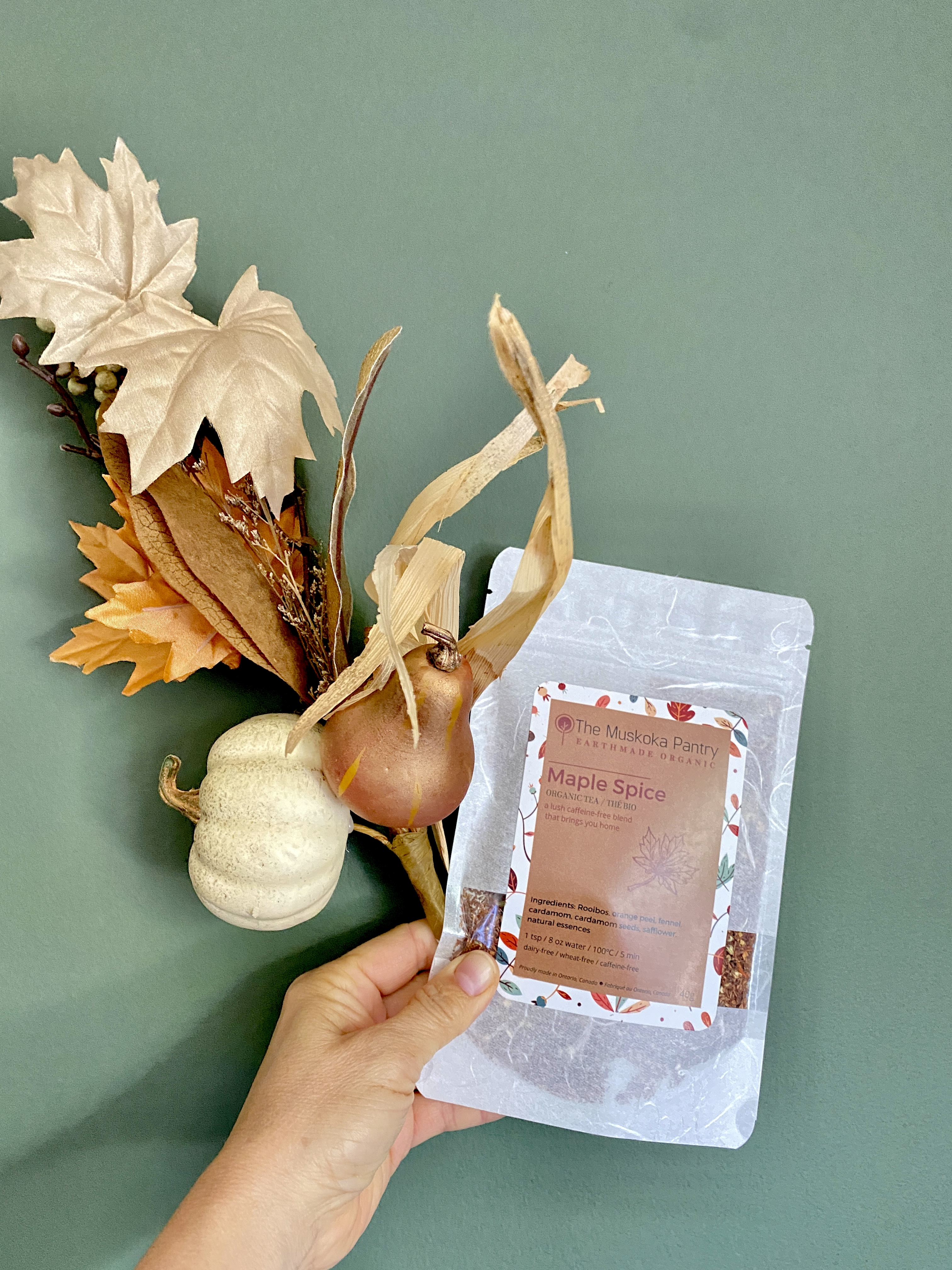 Red Maple Spice Herbal Tisane Tea